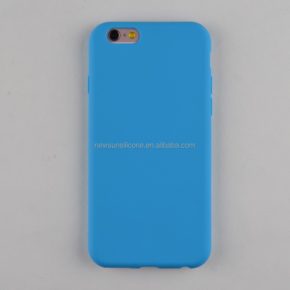 colorful silicone cell phone case for iphone series