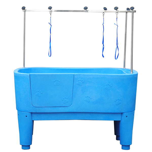 High quality plastic pet grooming baths /pet clean station H-111
