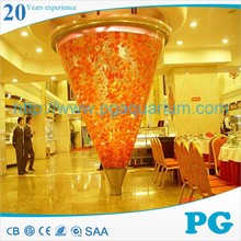 PG Made In Shanghai Custom Fish Tank Acrylic Optiwhite Aquarium