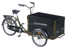 Model UB 9005 Three wheels nexus 3 speeds cargo tricycle/ice cream bike for sale/trike /reverse trike for sale
