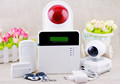 New Wireless GSM Home Security Burglar SIM Card Alarm kit System Auto Dialing Dialer Call Wireless GSM Host