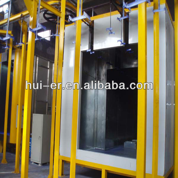 powder spray coating machine
