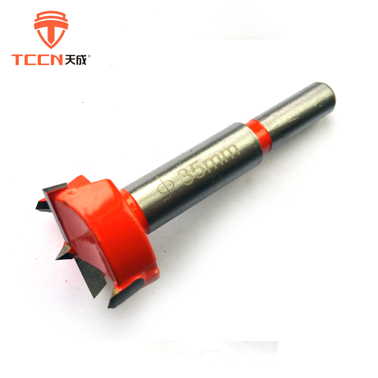 TCCN OEM 35mm Or Customized Carpentry Cutter TCT Hinge Forstener Drill Bits
