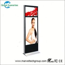 Floor standing digital signage lcd playe with global guarantee