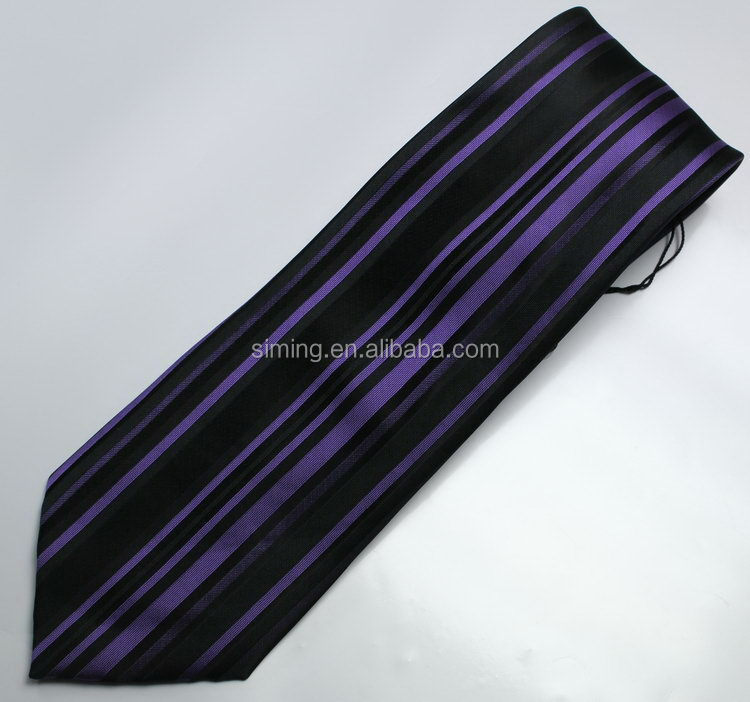 Fashion low price woven necktie silk ties
