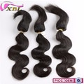 Full Cuticle Double Weft Human hair 3pcs/lot, Braid in Hair Bundles