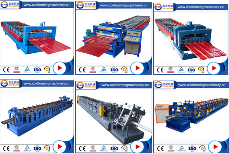 Sheet Metal Profiling Metal Ridge Cap Making Machine