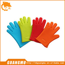 Silicone BBQ Oven Cooking Gloves- Heat Resistant - BBQ Grill- Waterproof, Camping, Indoor-Outdoor Grilling
