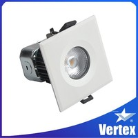 Commercial lighting Flat slim donlight Hot sales 9w led downlight