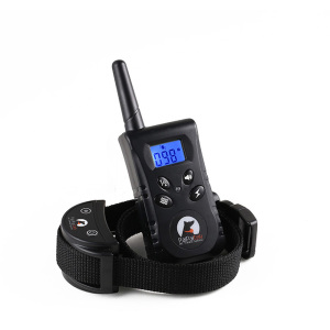 Shock bark dog training collar with remote