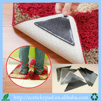 convenient use anti slip PU sticky pad for keeping carpet tidy