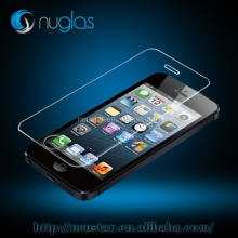mobile phone accessories, Extra hard 9H tempered glass screen protector for iphone 5 with retail package