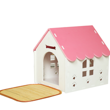 Outdoor Garden Patio Dog Kennel House Small Animal Pet Home