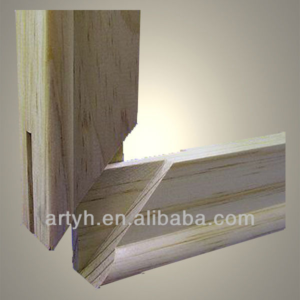 Wholesale Custom Pine Wood Stretcher Bar For Canvas