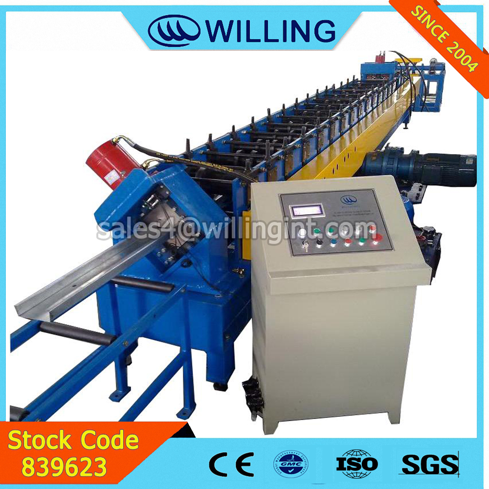 Hangzhou High quality c shaped steel strut channel roll forming machine c steel purlin roll former