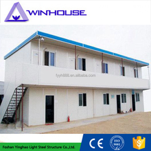 Light structural steel homes temporary houses in india sandwich kiosk design