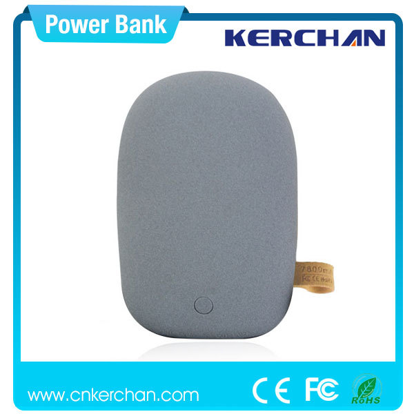 sex stone 7800mah power bank,highly smartphone long power bank pack