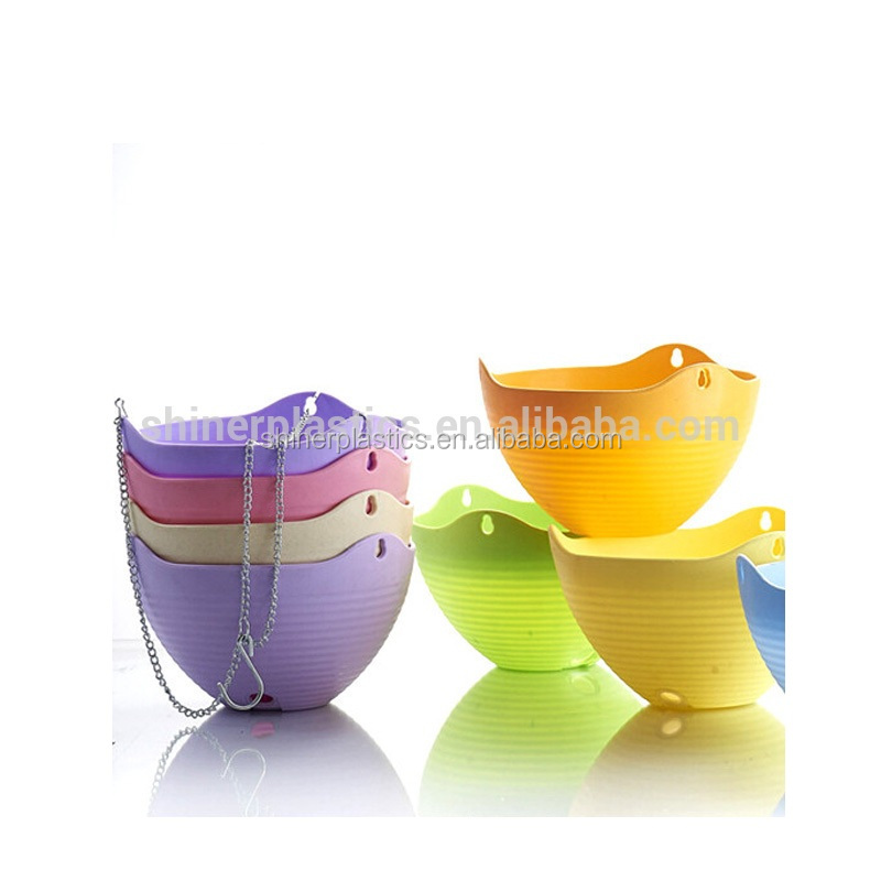Designed Small Plastic Parts injection moulding plastic different types flower pots
