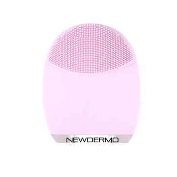 Popular skin whitening face cleanser mini silicone face brush