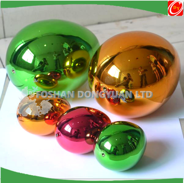 Plated Color Stainless Steel Gazing Balls