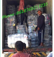 packs of used imported clothes