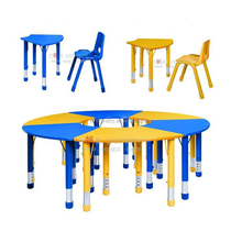Children School Furniture, Table and Chairs for Kid, Kindergarten Table and Chair Set