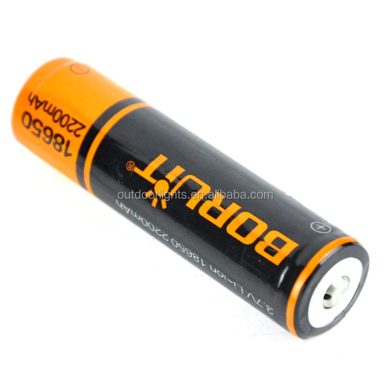 2200MAH Lithium Rechargeable Battery 18650 Battery