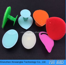 Pure Silicone Makeup Cleaner Brush Precision Pore Cleansing Pad Face Skin Care Deeper Clean Exfoliate Skin