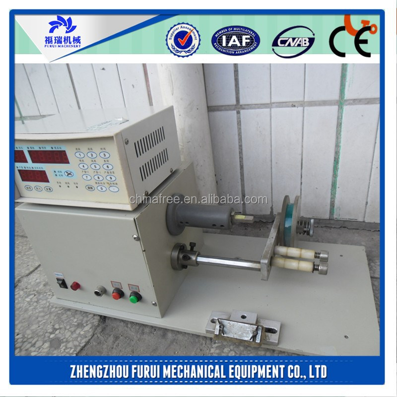 2015 Best price rope winding machine/capacitor winding machine