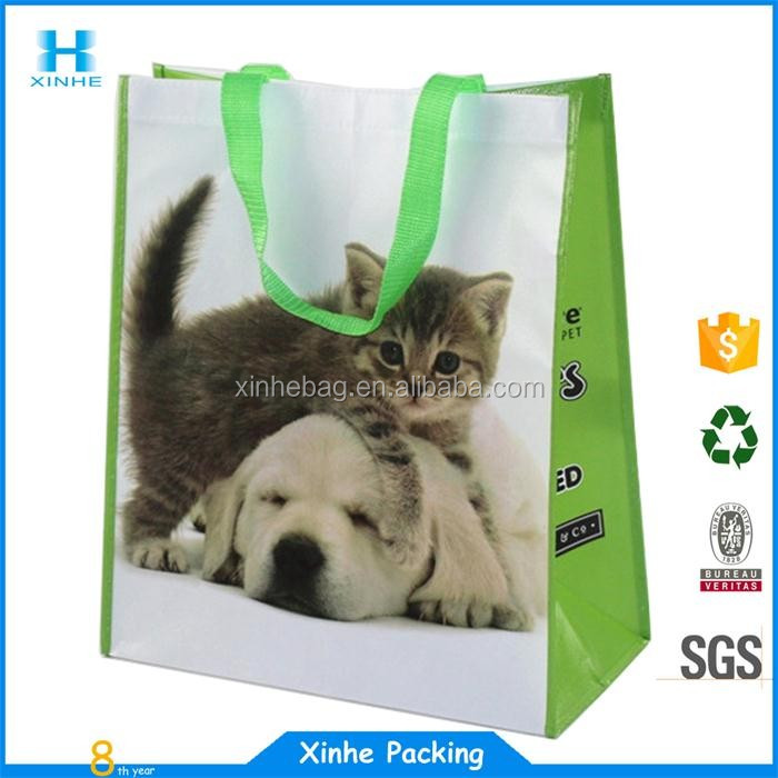 Christmas tree type promotional non woven tote bag