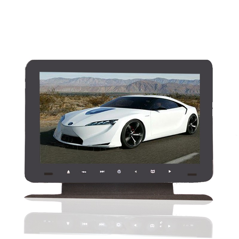 9 inch android car dvd headrest tablet monitor central armrest TFT LCD monitor with DVD player