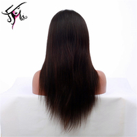 Unprocessed virgin hair Full lace wig Chinese hair wig factory store