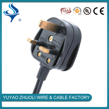 south Africa ac power cord 250V power extension cable