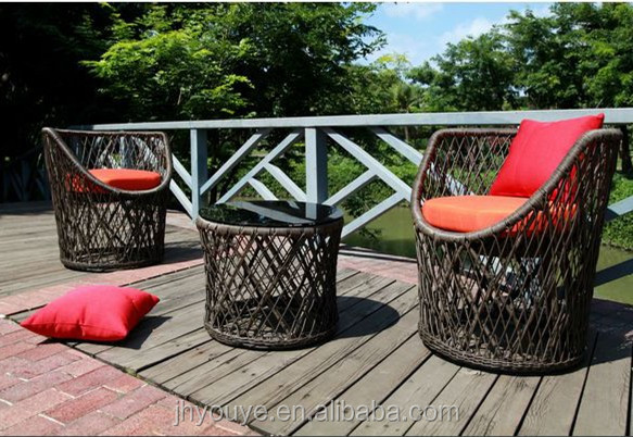 2016 New Style Patio Sofa and chair outdoor leisure furniture with Aluminum frame