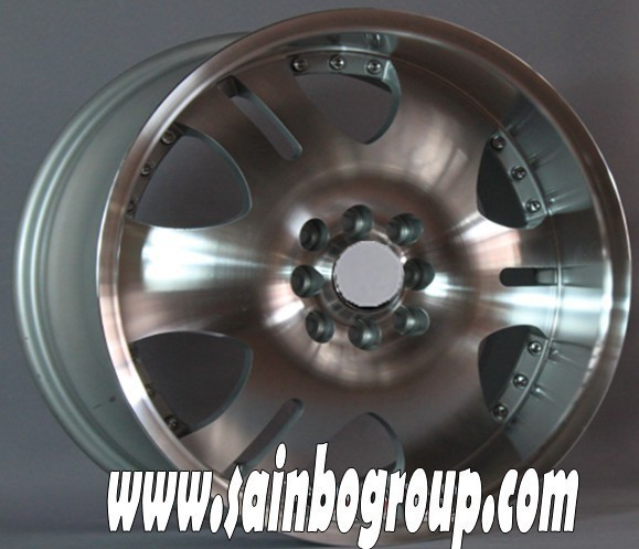 high quality chrome alloy wheel for tyre made in china