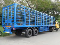 Cylinder Filled Gas Transport Trailer