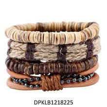 2016 Top Grade Cheap Price Handmade Clasp Anchor Gray Leather Custom Jewelry Leather Bracelet