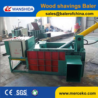 High quality of hydraulic wood shavings baler press machine