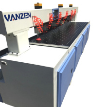 Double head automatic cnc cutting and drilling machines for sale