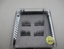 2017 New Trend Direct Factory Wholesale Private Packing 100% Handmade Magnetic False Eyelashes