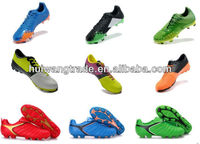 2014 design your own soccer shoes Newest DESIGN outside SOCCER SHOES CHEAP PRICE
