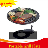 High quality hot sell bbq grill plate for gas stove