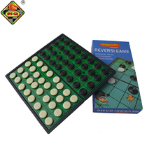 Medium Sized Foldable Magnetic Plastic Reversi Board Game for travel with game pieces