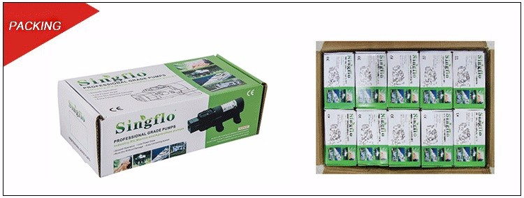 Singflo high quality 12v 80psi agriculture power sprayer machine