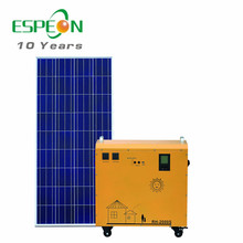 Portable solar off grid system and 220V solar power generator for home usd