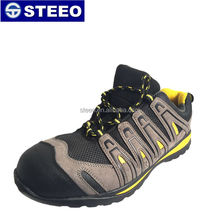 Genuine Leather waterproof stylish Super light sport safety shoes