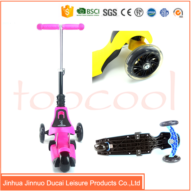 Import china scooter 3 in 1 three wheel kick scooter for adult TK03
