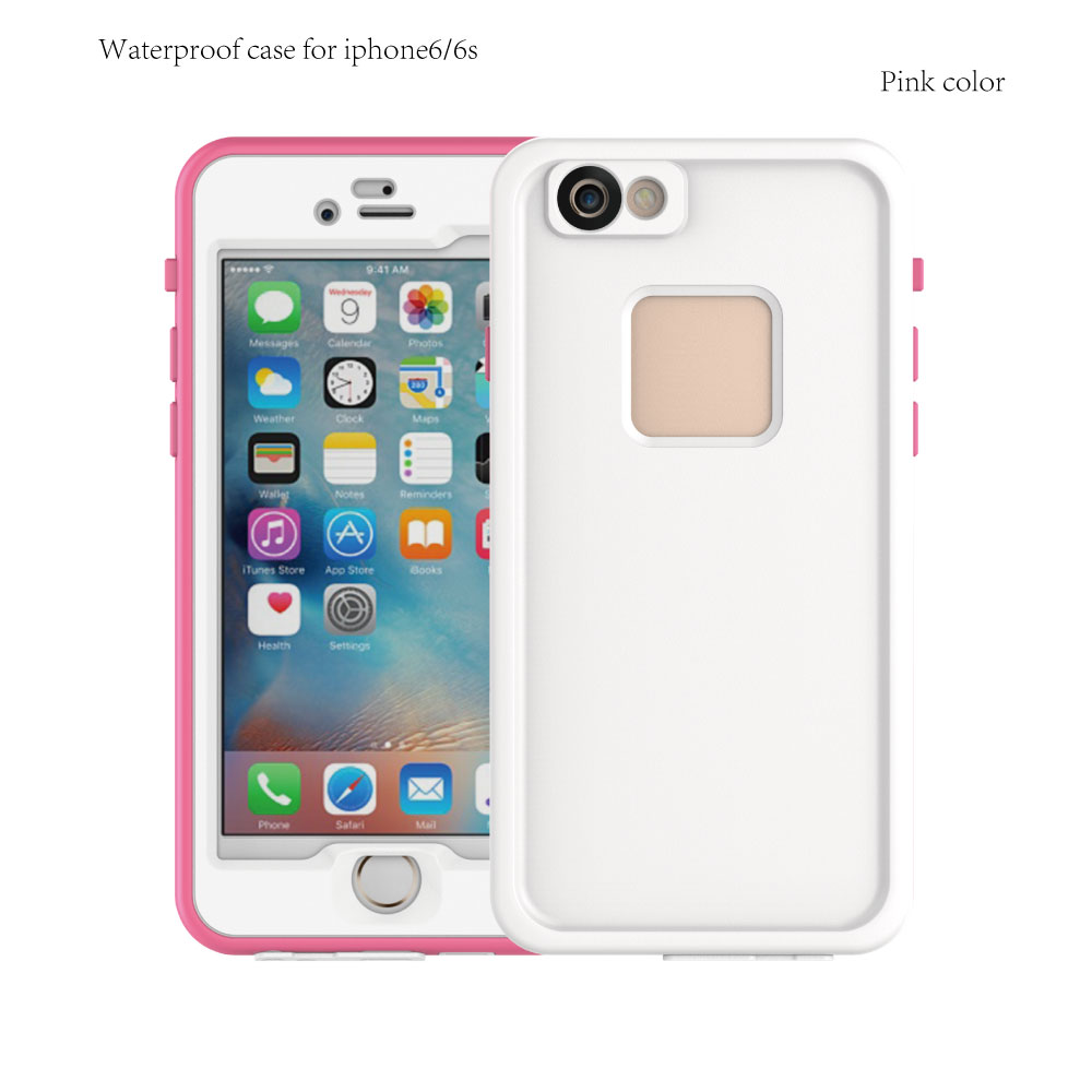 Phone accessories case 2016 For apple iphone 6 Underwater Waterproof case Shockproof case For iPhone 6S
