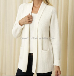 2014 hot sale new style cardigan fabric with pocket
