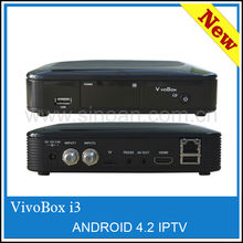 Vivobox S5 and Vivobox I3 Android 4.2 free SKS IKS Satellite Receiver